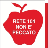 Logo of radio station RETE 104