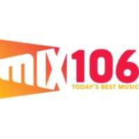 Logo of radio station KEZR Mix 106