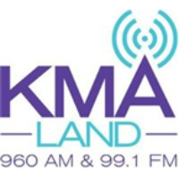 Logo of radio station KMA FM 99.1