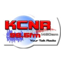 Logo of radio station KCNR 1460