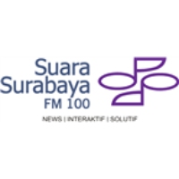 Logo of radio station Suara Surabaya FM 100.0