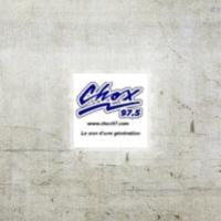 Logo of radio station CHOX 97,5 La Pocatière