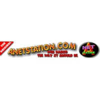 Logo of radio station 'A' NET STATION