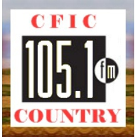 Logo de la radio CFIC Hot Country 105 FM