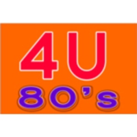 Logo of radio station 4U - 80's