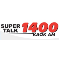 Logo of radio station KAOK Super Talk 1400
