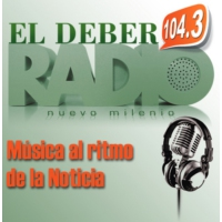 Logo of radio station El Deber Radio
