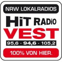 Logo of radio station Hit Radio Vest