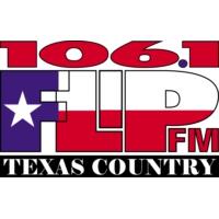 Logo of radio station KFLP 106.1 FM