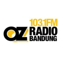 Logo of radio station 103.1 FM Oz Radio Bandung