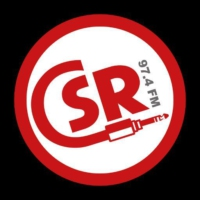 Logo of radio station CSR (Canterbury Student Radio)