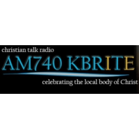 Logo of radio station KBRT