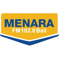 Logo of radio station Menara 102.8 FM Bali