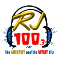 Logo of radio station RJ FM 100.3