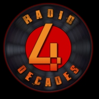 Logo of radio station 4 Decades Radio
