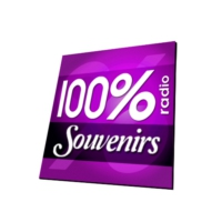 Logo of radio station 100% RADIO SOUVENIRS