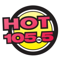 Logo of radio station Hot 105.5