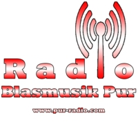 Logo of radio station Blasmusik Pur
