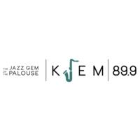 Logo of radio station KJEM 89.9