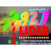 Logo de la radio Lider FM 92.7
