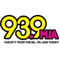 Logo of radio station WMIA-FM 93.9 MIA