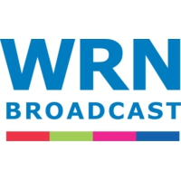 Logo of radio station WRN English for North America