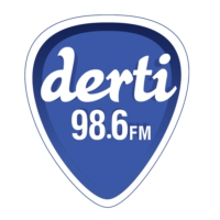 Logo of radio station Derti 98.6 FM