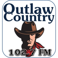 Logo of radio station KIEV-LP Outlaw Country Radio 102.7 FM