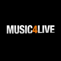 Logo of radio station Music 4 Live
