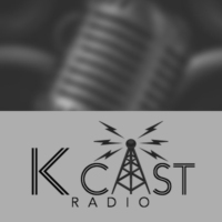 Logo of radio station KCast Radio