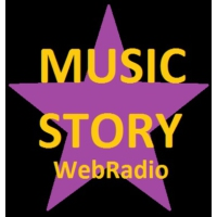 Logo of radio station Music Story