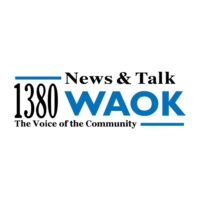 Logo of radio station 1380 WAOK