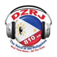 Logo of radio station DZRJ 810 AM