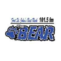 Logo de la radio The Bear 101.5 FM