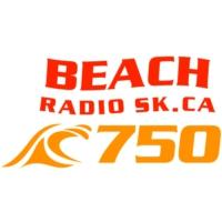 Logo of radio station CKJH 750 Beach Radio