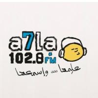 Logo de la radio A7la FM