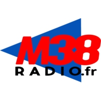 Logo of radio station M38 radio