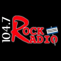 Logo of radio station Rock Radio 104.7 FM