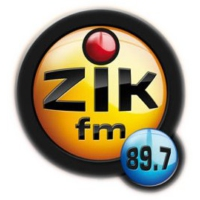 Logo of radio station Zik FM Dakar