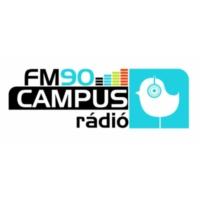 Logo of radio station FM90 Campus Rádió