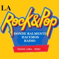 Logo of radio station LA ROCK & POP