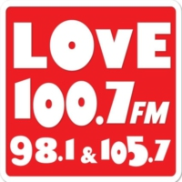 Logo of radio station Love FM 100.7