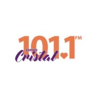 Logo de la radio Stereo Cristal 101.1 FM