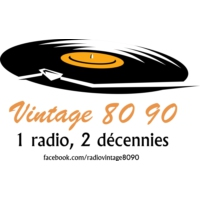 Logo of radio station Vintage 80 90