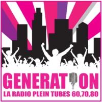 Logo of radio station Génération Tubes