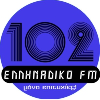 Logo of radio station Ellinadiko FM