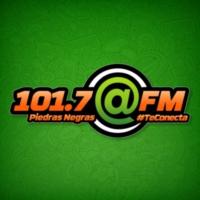 Logo of radio station XHCPN @ FM 101.7