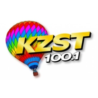 Logo of radio station KZST 100.1