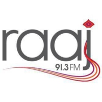 Logo of radio station Raaj FM