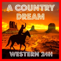 Logo de la radio A COUNTRY DREAM - Western 24H